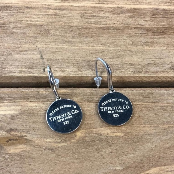 eb399d377 Tiffany & Co. Jewelry   Authentic Tiffany And Co Round Tag Earring ...
